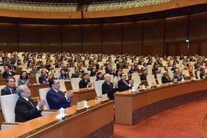 Tổng Bí thư, Chủ tịch nước Nguyễn Phú Trọng dự phiên Bế mạc kỳ họp thứ 8 Quốc hội khóa XIV