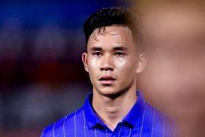 Supachok ấn định chiến thắng 7-0 cho U22 Thái Lan