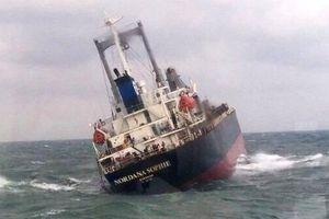 Hà Tĩnh: Cứu hộ thành công 18 thuyền viên nước ngoài trên tàu sắp chìm
