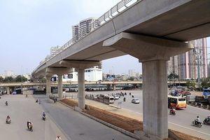 Ðẩy nhanh tiến độ thi công tuyến đường sắt đô thị Nhổn - ga Hà Nội