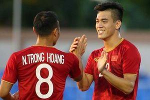 U22 Việt Nam lại thắng tưng bừng, giữ vững ngôi đầu bảng B