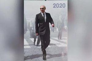 Tổng thống Nga Putin xuất hiện lịch lãm trong bộ lịch 2020