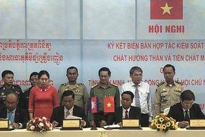 Tăng cường hợp tác phòng, chống ma túy qua biên giới Tây Ninh