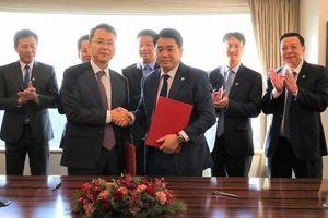 Hà Nội ký nhiều Bản ghi nhớ hợp tác với các nhà đầu tư Hàn Quốc