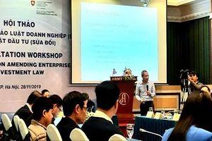 Lấy ý kiến Dự thảo Luật Doanh nghiệp (sửa đổi): Vẫn 'nóng' hộ kinh doanh