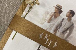 Lộ thiệp cưới của Hồ Ngọc Hà và Kim Lý?