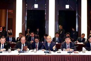 Thủ tướng dự tọa đàm với các doanh nghiệp hàng đầu Hàn Quốc