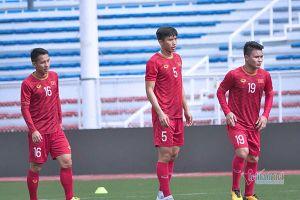 Đội hình U22 Việt Nam vs U22 Lào: Quang Hải, Đoàn Văn Hậu xuất trận