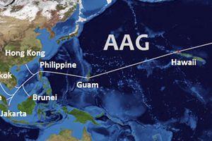 Cáp biển AAG lại gặp sự cố