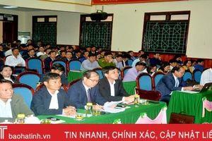 Các địa phương ở Hà Tĩnh quán triệt Nghị quyết Hội nghị Trung ương 11 cho cán bộ cốt cán