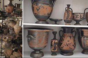 Triệt phá băng nhóm buôn bán và đào trộm cổ vật Hy Lạp quy mô lớn
