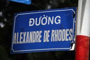 Đà Nẵng ngừng đặt tên đường giáo sĩ Alexandre de Rhodes