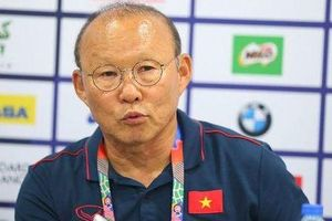 HLV Park Hang Seo: 'Trận đấu với U22 Indonesia vô cùng quan trọng với U22 Việt Nam'