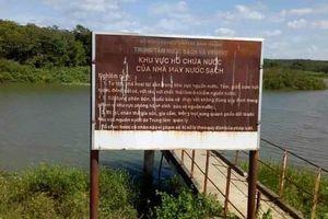 Bình Thuận: 2 học sinh đuối nước thương tâm tại hồ chứa của nhà máy nước sạch