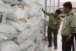 An Giang thu giữ hơn 34 tấn đường nhập lậu trong 2 tháng