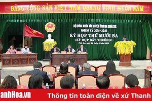 HĐND huyện Tĩnh Gia quyết nghị, thống nhất chủ trương thành lập thị xã Nghi Sơn