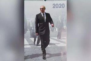 Lịch Putin 2020: Tổng thống Nga xuất hiện với hình ảnh lịch lãm