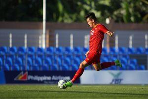 Tiến Linh trừng phạt hàng thủ U22 Lào, ghi bàn thứ 2 ở SEA Games 30