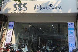 SSS Momcare bị nghi bán hàng lậu