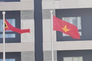 Lễ thượng cờ các quốc gia tham dự SEA Games 30
