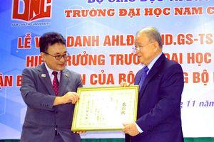 Bộ Ngoại giao Nhật Bản tặng bằng khen cho GS-TS Võ Tòng Xuân