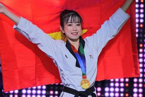 Nhan sắc hot girl làng võ quyết bảo toàn HCV tại SEA Games 30
