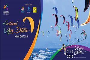 Biển Ninh Chữ (TP Phan Rang- Tháp Chàm) sôi động với festival ván diều quốc tế