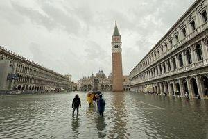 Ngập trong biển nước, Venice vật lộn chống chìm