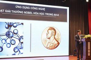 AH8 - Thành tựu đạt giải thưởng Nobel lần đầu tiên ứng dụng trong sản phẩm Việt