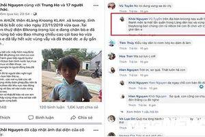Nhắc nhở chủ Facebook đăng tin trẻ em bị bắt cóc