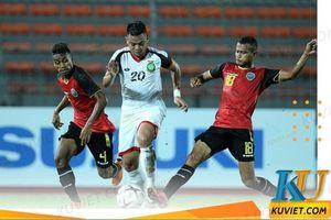 Thắng nhọc Timor Leste, U22 Myanmar chiếm ngôi đầu bảng A
