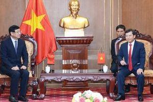 Tăng cường hợp tác giữa VKSND tối cao hai nước Việt Nam - Trung Quốc