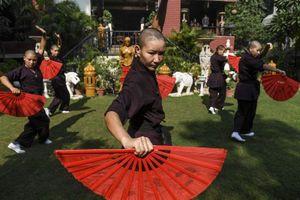 Những nữ tu luyện kungfu trên dãy Himalaya