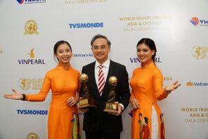 Vietravel lần thứ 3 liên tiếp đạt giải 'Nhà điều hành tour du lịch trọn gói hàng đầu thế giới'