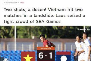 Báo chí Thái Lan ấn tượng với hàng công của U22 Việt Nam