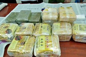 Nghệ An: Bắt 4 đối tượng buôn bán ma túy xuyên quốc gia