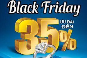 Giá vàng giảm 110.000 đồng/lượng ngày Black Friday