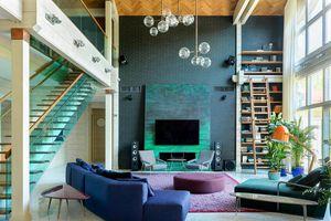Ngôi nhà sở hữu nhiều màu sắc như một bức tranh