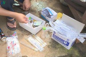 Tàng trữ ma túy trái phép, một cặp vợ chồng bị tạm giữ hình sự