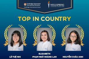 Bí quyết học tập của 3 học sinh đoạt giải cao nhất quốc gia trong kỳ thi IGCSE