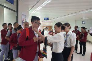 Tránh siêu bão Kammuri, Thể thao Việt Nam thay đổi lịch trình bay
