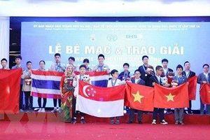 IMSO 2019 thành công tốt đẹp, cả 36 học sinh Việt Nam đều có huy chương