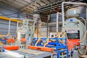 Sản xuất gạch ốp lát Việt Nam đứng đầu các nước ASEAN