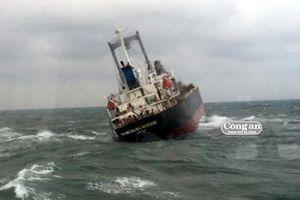 Cứu thuyền viên tàu nước ngoài