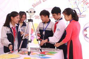Học sinh hào hứng với nhiều hoạt động trải nghiệm tại 'Ngày hội Toán học 2019'