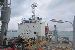 Lọc hóa dầu Bình Sơn xuất bán lô dầu nhiên liệu hàng hải đầu tiên
