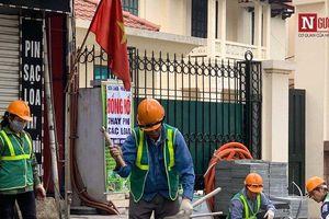 Chi 36 tỷ đồng 'thay áo mới' cho vỉa hè tuyến đường đông đúc bậc nhất Thủ đô
