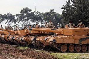 Thổ Nhĩ Kỳ lần đầu cấp xe tăng chiến đấu chủ lực cho phiến quân Syria