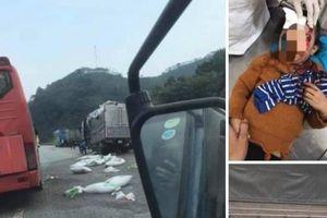 TNGT ở cao tốc Nội Bài-Lào Cai: Bé gái được dân mạng tìm người nhà là ai?