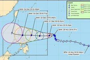 Siêu bão Kammuri 'tấn công': Trận U22 Việt Nam và U22 Indonesia có hoãn?